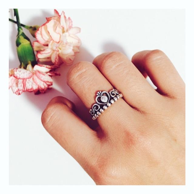 hiim_meiii 5 pandora的戒指里我最爱这个 my princess我很喜欢带有
