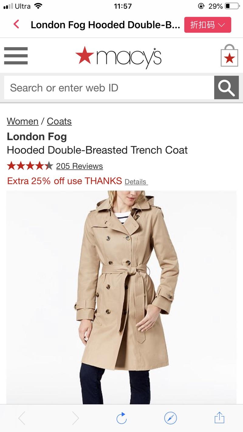 ae91f8859 Macys London Fog Women S Trench Coat - Tradingbasis