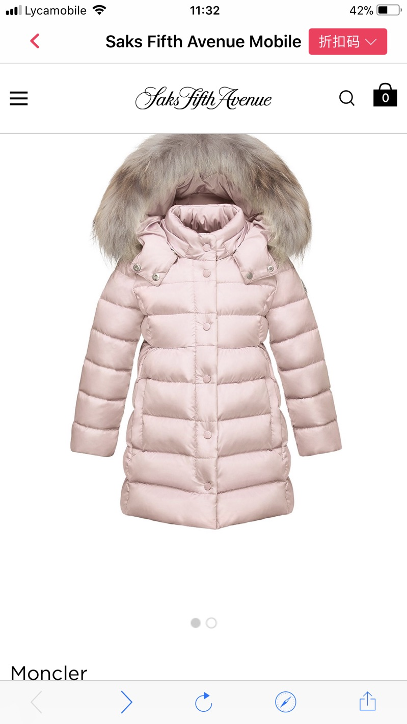 3c8f1c0a1c1a high fashion 0ca85 9bb7e at saks fifth avenue moncler toddlers ...